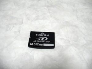 FUJIFILM XD PictureCard 512MB データ復旧