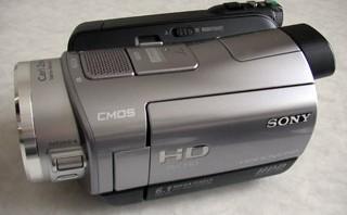 SONY HDR-SR7 ビデオカメラ データ復旧