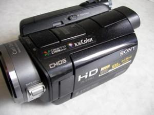 SONY ハンディカム HDR-SR8 初期化 データ復旧