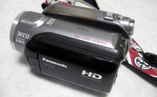 Panasonic デジタルハイビジョンビデオカメラ HDC-HS9