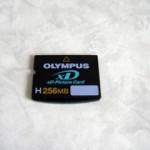 XDピクチャーカード OLYMPUS X-750 データ復旧