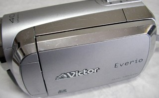 Victor Everio GZ-MS130-S フォーマット