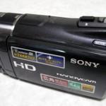 SONY デジタルビデオカメラ HDR-CX550V データ復旧