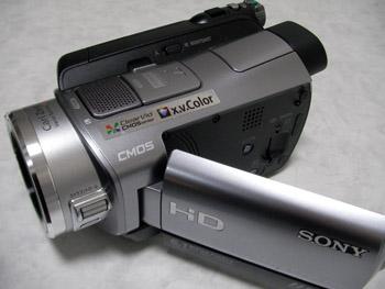 SONY HDR-SR8 ハンディカム データすべて削除