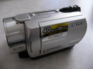 ソニー DCR-SR300 デジタルビデオカメラ データ復旧
