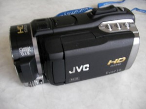 Victor Everio GZ-HM400-B ビデオカメラ フォーマットした