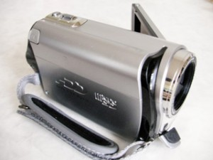 Victor Everio GZ-MG260 データを削除した