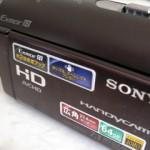 SONY HDR-CX370V ハンディカム 動画を削除した