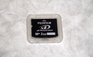 全データ消去 XDピクチャーカード FUJIFILM