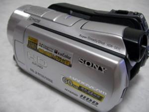 ソニー ハンディカム HDR-SR11 ハードディスク読めない