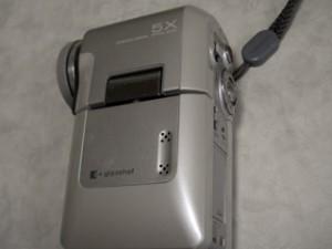 東芝 gigashot V10 HDDビデオカメラ MEHV10 全消去した