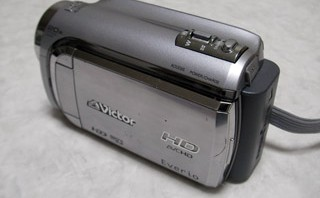 Victor Everio GZ-HD300-S フォーマットした