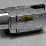 SONY ハンディカム DCR-SR300 動画データをぜんぶ消した