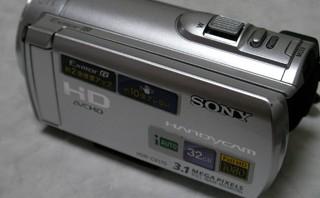 SONY ハンディカム HDR-CX170 動画を削除した