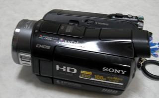 SONY HDR-SR8 ハンディカム 動画を消した