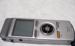 OLYMPUS Voice-Trek DS-700 データを消した