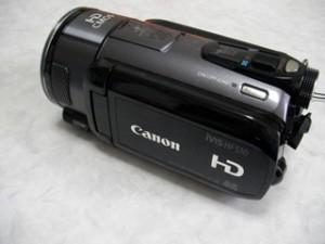 Canon iVIS HF S10 動画データを消してしまった