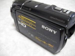 SONY デジタルビデオカメラ HDR-CX520V 動画データを消した