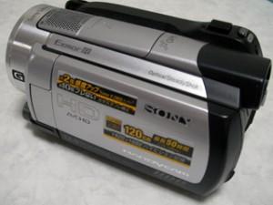SONY ハンディカム HDR-XR500V 誤って全削除