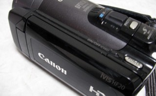 Canon iVIS HF20 ビデオデータ復旧