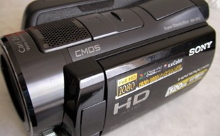 SONY ハンディカム HDR-SR12 取込中に電池切れ