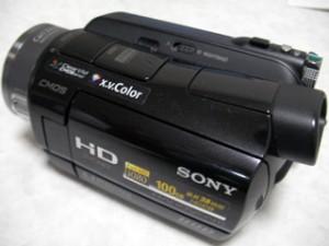 SONY ハンディカム HDR-SR8 初期化した