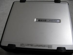 HDL-F250 LANDISK アイオーデータ ファイルが見られない