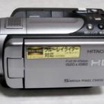 「HDDエラー」と表示される。 日立 Wooo DZ-HD90 ビデオカメラ データ復旧