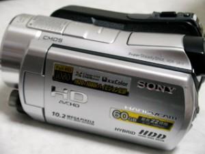 気がついたら動画が消えていた。 SONY HDR-SR11ハンディカム 【復旧事例】