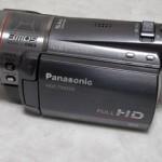 Panasonic HDC-TM350 内蔵メモリーをフォーマット