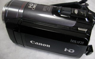 Canon iVIS HF20