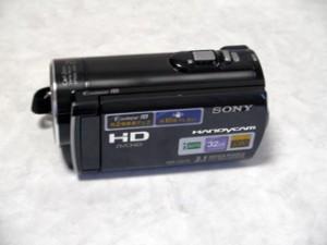 子供が消去ボタンを押してしまったようだ。 SONY HDR-CX170 ビデオカメラ 【復旧事例】