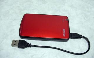 バッファロー SHD-PE64G-RD 外付けSSD