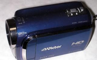 誤ってHDDフォーマットした。 Victor GZ-HD300 ハードディスクムービー