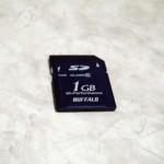 バッファロー SDカード 1GB