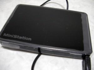 HD-PCT640U2-BK BUFFALO ポータブルハードディスク