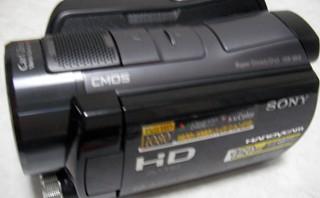 該当ファイルがありませんと表示される。 SONY HDR-SR12 ハンディカム