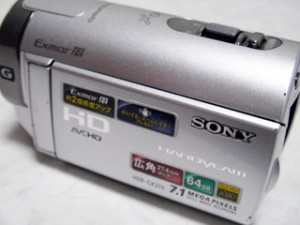 HDD内の動画を間違って全消去した。 ソニー ハンディカム HDR-CX370V 【復旧事例】
