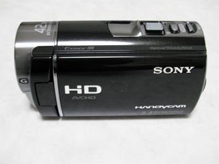 ビデオカメラ誤操作で全消去した。 ソニー HDR-CX180 ビデオカメラ