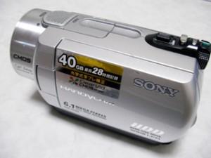 データを誤って全削除した。 SONY ハンディカム DCR-SR300