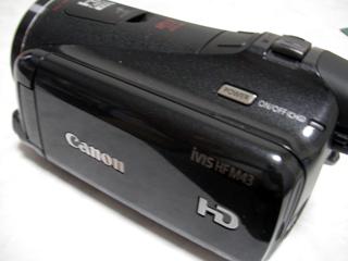 ビデオカメラをフォーマットした。 Canon iVIS HF M43