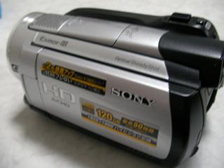 気が付いたらデータが消えていた。 SONY ハンディカム HDR-XR500V