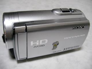 ビデオカメラ本体のデータが消えた。 SONY HDR-CX370V