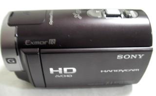 突然内蔵データが消えてしまった。 SONY HDR-CX170