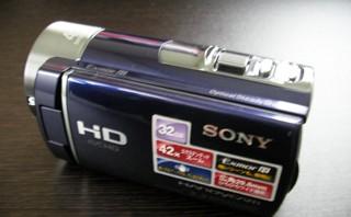 ビデオカメラに内蔵されているデータが消えた。 SONY HDR-CX180 【復旧事例】