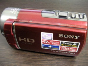 SONY HDR-CX180 誤操作でデータ削除 【データ救出事例】