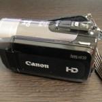 Canon iVIS HF 20 データ救出