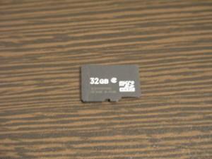 microSD 32GB データ救出