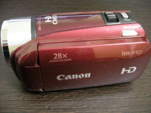 Canon iVIS HFR21