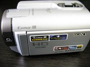ソニー HDR-XR350V ビデオカメラ エラーコード「E:31:00」 東京都千代田区のお客様
